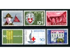1963 - LOTTO/22848 - SVIZZERA - PROPAGANDA 6v. - NUOVI