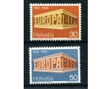 1969 - LOTTO/22851 - SVIZZERA - EUROPA 2v. - NUOVI