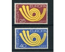 1973 - LOTTO/22852 - SVIZZERA - EUROPA 2v. - NUOVI
