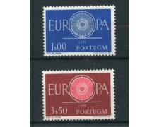 1960 - LOTTO/22855 - PORTOGALLO - EUROPA 2v.- NUOVI