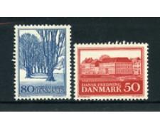 1966 - LOTTO/22857 - DANIMARCA - SALVAGUARDIA NANURA 2v. - NUOVI