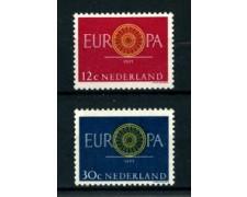 1960 - LOTTO/22866 - OLANDA - EUROPA 2v. - NUOVI