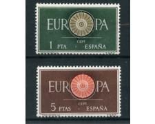 1960 - LOTTO/22867 - SPAGNA - EUROPA 2 v. -NUOVI