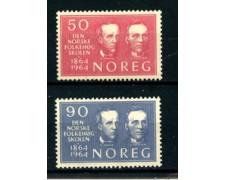 1964 - LOTTO/22893 - NORVEGIA - SCUOLE POPOLARI  2v. - NUOVI