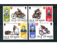 1974 - LOTTO/22896 - ISOLA DI MAN - MOTOCICLISMO 4v. - NUOVI