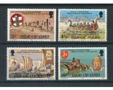 1974 - LOTTO/22897 - ISOLA DI MAN - AVVENIMENTI 4v. - NUOVI