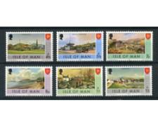 1975 - LOTTO/22899 - ISOLA DI MAN - SERIE ORDINARIA 6v. - NUOVI