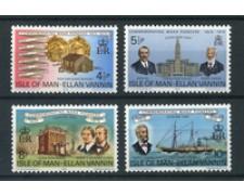 1975 - LOTTO/22900 - ISOLA DI MAN - PIONIERI 4v. - NUOVI