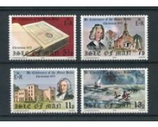 1975 - LOTTO/22903 - ISOLA DI MAN - BIBBIA E NATALE 4v. NUOVI