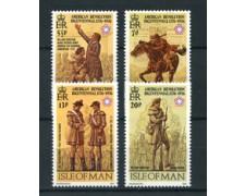 1976 - LOTTO/22907 - ISOLA DI MAN - BICENTENARIO U.S.A. 4v. - NUOVI