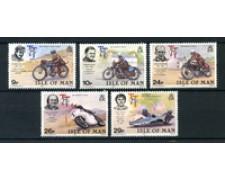1982 - LOTTO/22909 - ISOLA DI MAN - 75° MOTOCICLISMO 5v. - NUOVI