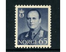 1958/60 - LOTTO/22922 - NORVEGIA - 65 ore  Re Olav - Nuovo
