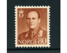 1958/60 - LOTTO/22923 - NORVEGIA - 80 ore Re Olav - Nuovo