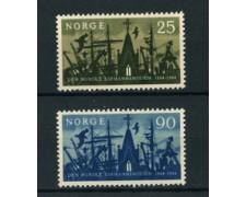 1964 - LOTTO/22926 - NORVEGIA - GENTE DI MARE 2v. - NUOVI