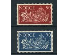 1963 - LOTTO/22928 - NORVEGIA - 50790 o. CAMPAGNA CONTRO LA FAME - NUOVI
