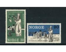 1965 - LOTTO/22931 - NORVEGIA - SOCIETA' MUSICALE 2v. - NUOVI