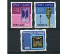1972 - LOTTO/22942 - PORTOGALLO - CITTA' DI PINHEL 3v. - NUOVI