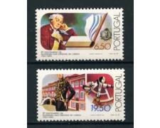 1980 - LOTTO/22946 - PORTOGALLO - ACCADEMIA SCIENZE 2v. - NUOVI