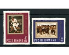 1967 - LOTTO/22977 - ROMANIA - INSURREZIONE PAESANA 2v. - NUOVI