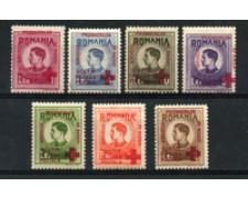 1946 - LOTTO/23002 - ROMANIA - PRO PRIGIONIERI CROCE ROSSA  7v. - NUOVI