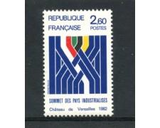 1982 - LOTTO/23031 - FRANCIA - VERTICE PAESI INDUSTRIALIZZATI - NUOVO