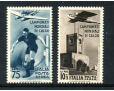 1934 - LOTTO/23039 - REGNO -  75C- 10+5 LIRE MONDIALI CALCIO - LING.