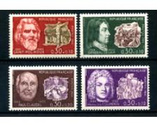 1968 - LOTTO/23123 - FRANCIA - PRO CROCE ROSSA 4v. - NUOVI