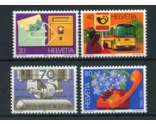 1980  - LOTTO/23147 - SVIZZERA - POSTE SVIZZERA 4v. - NUOVI