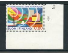 1976 - LOTTO/23151 - FINLANDIA - CINQUANTENARIO DELLA RADIO - NUOVO