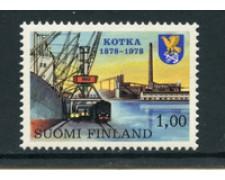 1978 - LOTTO/23152 - FINLANDIA - CENTENARIO CITTA' DI KOTKA