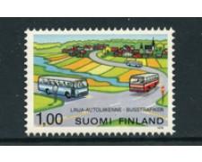 1978 - LOTTO/23153 - FINLANDIA - SERVIZIO AUTOBUS - NUOVO