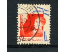 1931 - LOTTO/23161 - OLANDA - 1,5+1,5 C. PRO INFANZIA - USATO