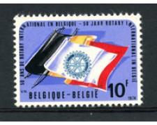 1974 - LOTTO/23167 - BELGIO - 50° ROTARY - NUOVO