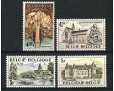 1976 - LOTTO/23168 - BELGIO - TURISTICA 4v. - NUOVI
