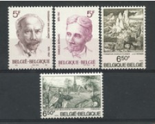 1976 - LOTTO/23169 - BELGIO - ANNIVERSARI 4v. - NUOVI