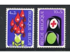 1974 - LOTTO/23170 - BELGIO - CROCE ROSSA 2v. - NUOVI
