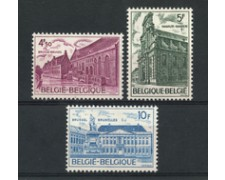 1975 - LOTTO/23173 - BELGIO - PATRIMONIO ARCHITETTONICO 3v. - NUOVI