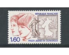 1984 - LOTTO/23174 - FRANCIA - PHILEX-JEUNES - NUOVO