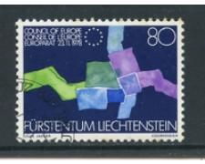 1979 - LOTTO/23203 - LIECHTENSTEIN - CONSIGLIO D'EUROPA - USATO