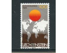 1979 - LOTTO/23204 - LIECHTENSTEIN - AIUTO ALLO SVILUPPO - USATO