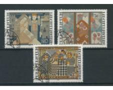 1979 - LOTTO/23206 - LIECHTENSTEIN - NATALE ARAZZI 3v. - USATI