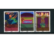 1980 - LOTTO/23208 - LIECHTENSTEIN - NATALE  3v. - USATI