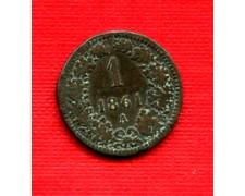 1861 - LOTTO/23210 - AUSTRIA - 1 KREUZER RAME