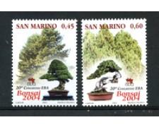 2004 - LOTTO/23322 - SAN MARINO- ASSOCIAZIONE BONSAI 2v. -  NUOVI