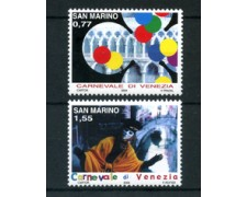 2004 - LOTTO/23325 - SAN MARINO - CARNEVALE DI VENEZIA 2v. - NUOVI