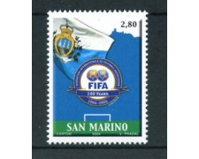 2004 - LOTTO/23327 - SAN MARINO - CENTENARIO FIFA - NUOVO