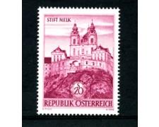 1963 - LOTTO/23342 - AUSTRIA - ABBAZIA DI MELK - NUOVO