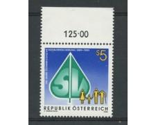 1989 - LOTTO/23346 - AUSTRIA - ASSICURAZIONI SOCIALI - NUOVO