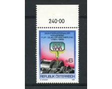 1989 - LOTTO/23349 - AUSTRIA - CONTROLLO QUALITA' - NUOVO
