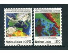 1989 - LOTTO/23364 - ONU SVIZZERA - GUARDIA METEOROLOGICA 2v. - NUOVI